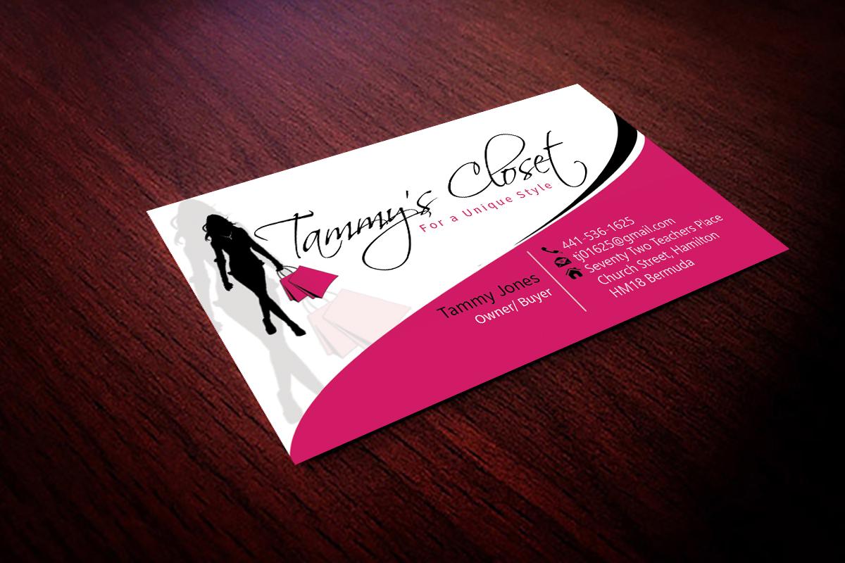 Masculine Bold Business Card Design design for Tammy