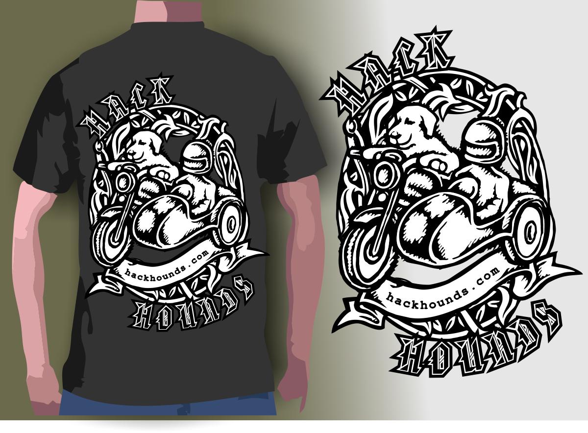 Shirt design blog - T Shirt Design By Cornel888 For Tshirt For Motorcycle Dog Travel Blog