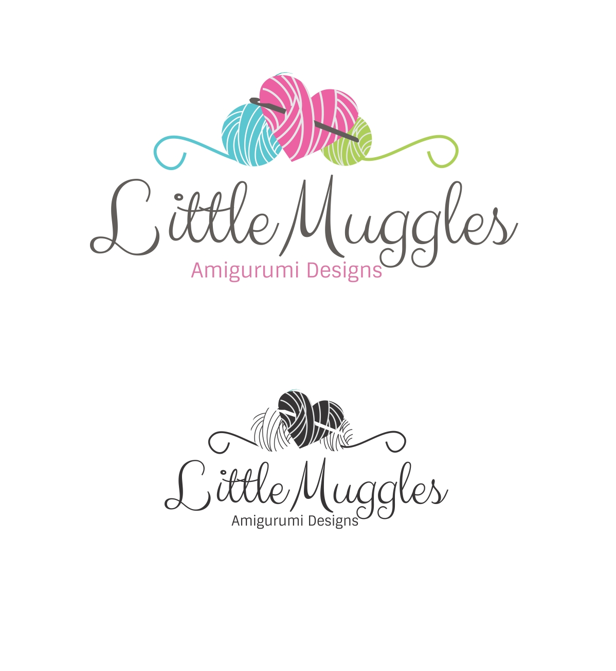 74 professional yarn logo designs for little muggles a for Painting and decorating logo ideas