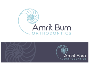 Logo Design by Concept Company - chambered nautilus - for orthodontist