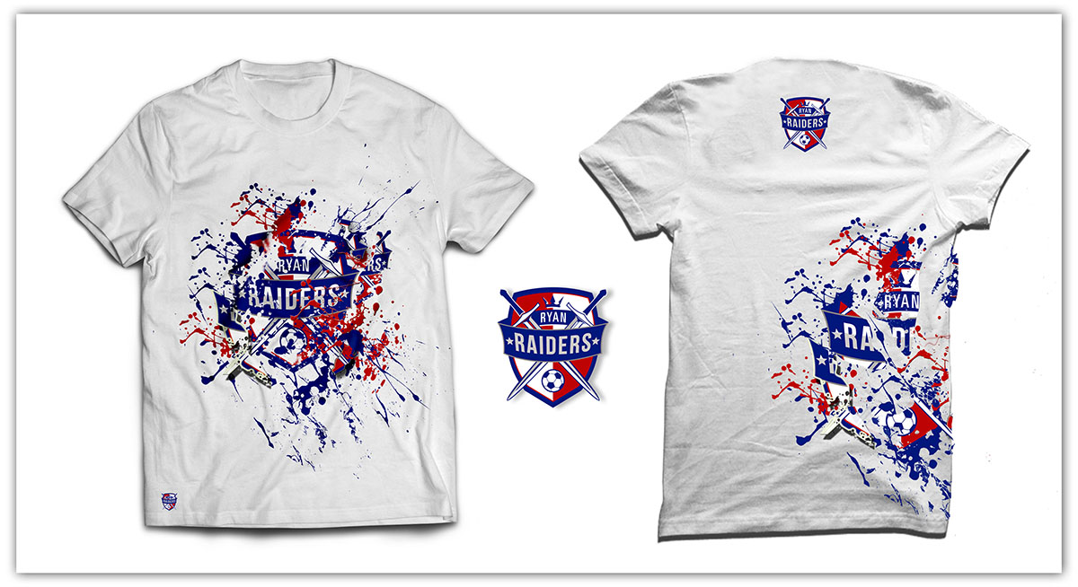 t shirt design by romimdq for high school soccer t shirt design - Soccer T Shirt Design Ideas