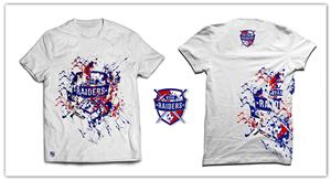 bold colorful paint tshirt design by romimdq - Soccer T Shirt Design Ideas