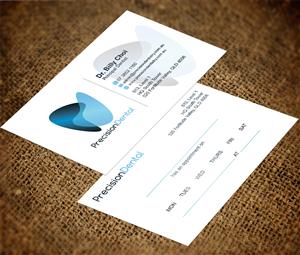 57 elegant business card designs dental business card design business card design by creativmindsja for precision dental design 4372353 colourmoves