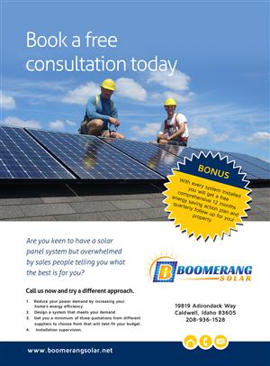 Solar Energy Flyer Design Galleries For Inspiration