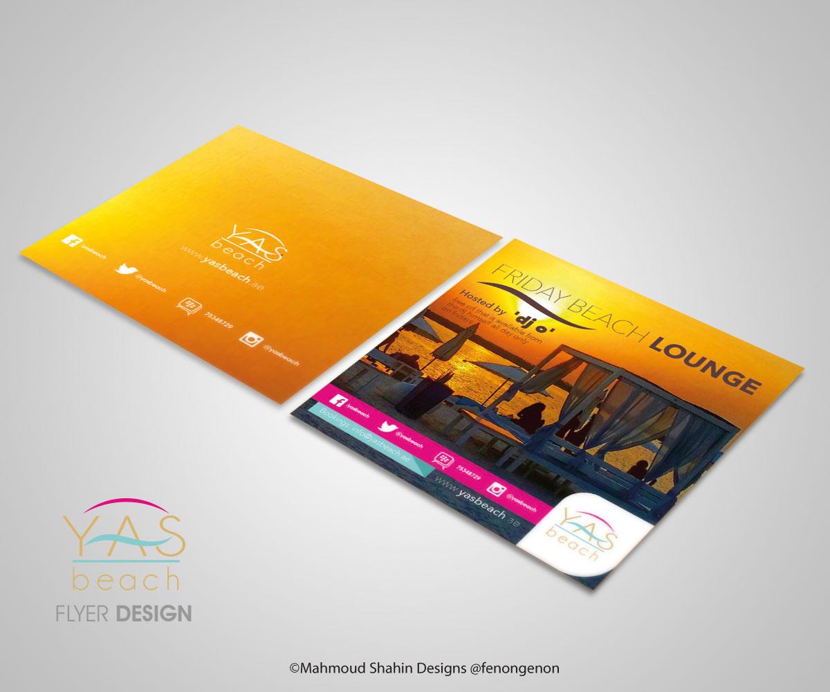 simple flyer designs
