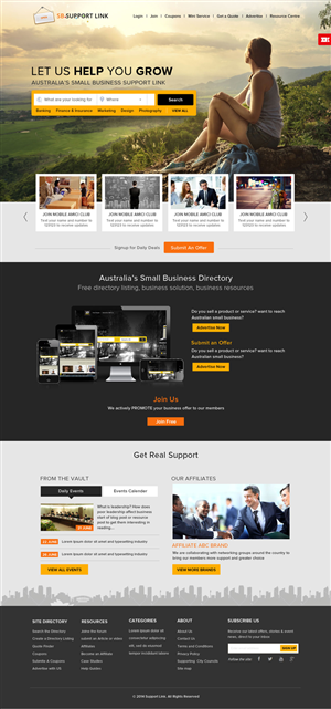 Web Design by OM - Small Business Directory Site Requires a Profes...