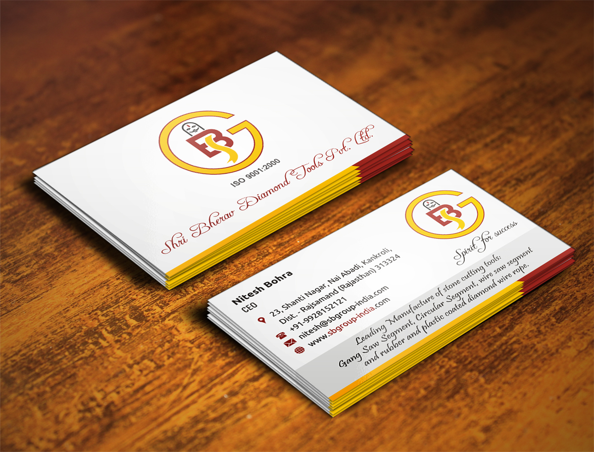 Diamond business card design galleries for inspiration we need a very creative business card for a leading diamond tools manufactures in india reheart Images