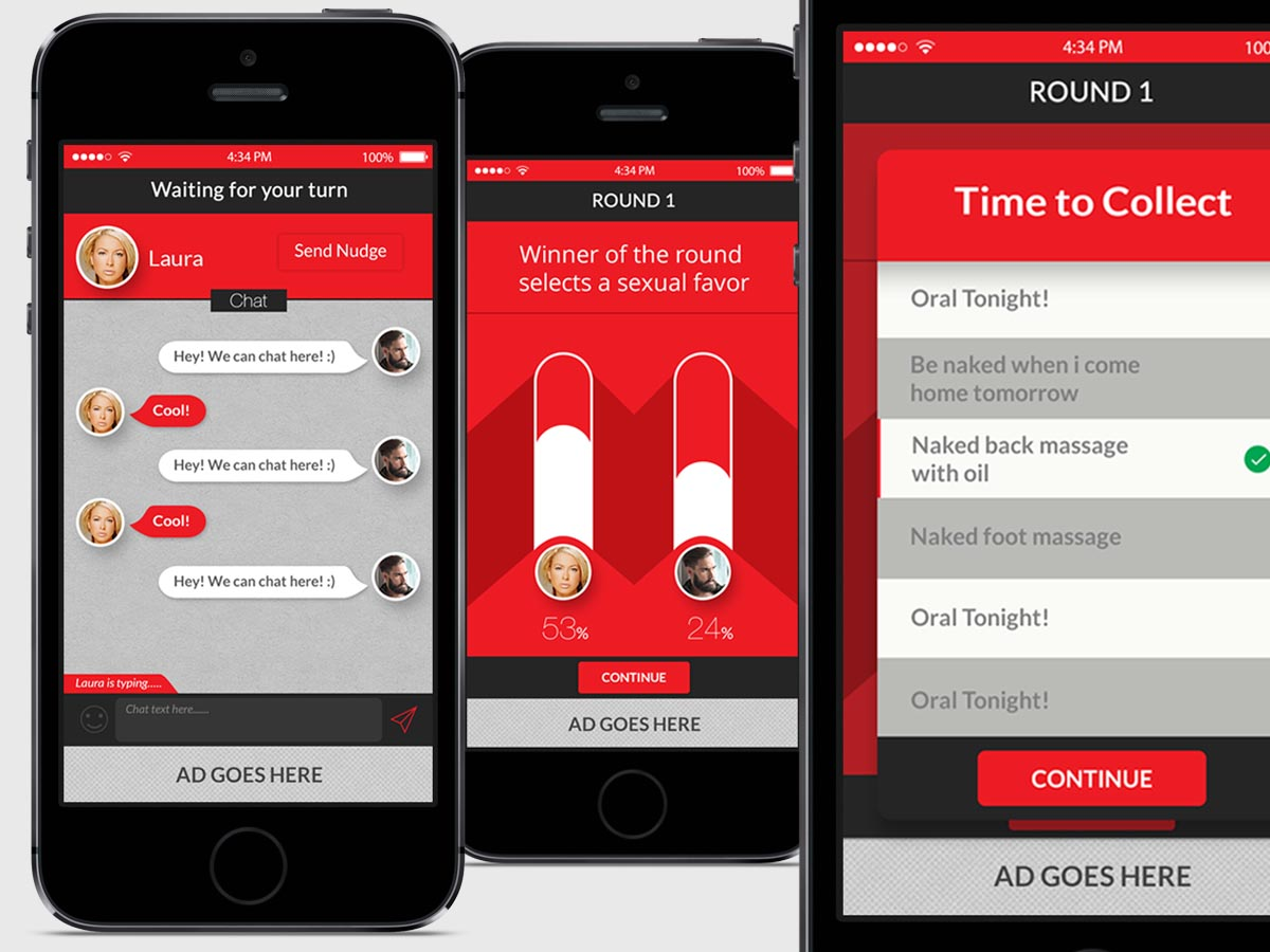 Modern Personable App Design For Appster Aps By Cinqsnipe