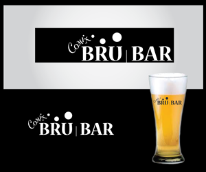 Logo Design by Le Art - Comix Bru Bar Logo