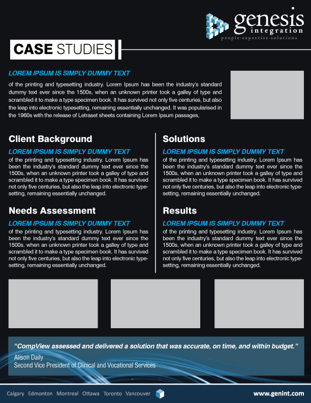 Case study template in word | Animate.Us
