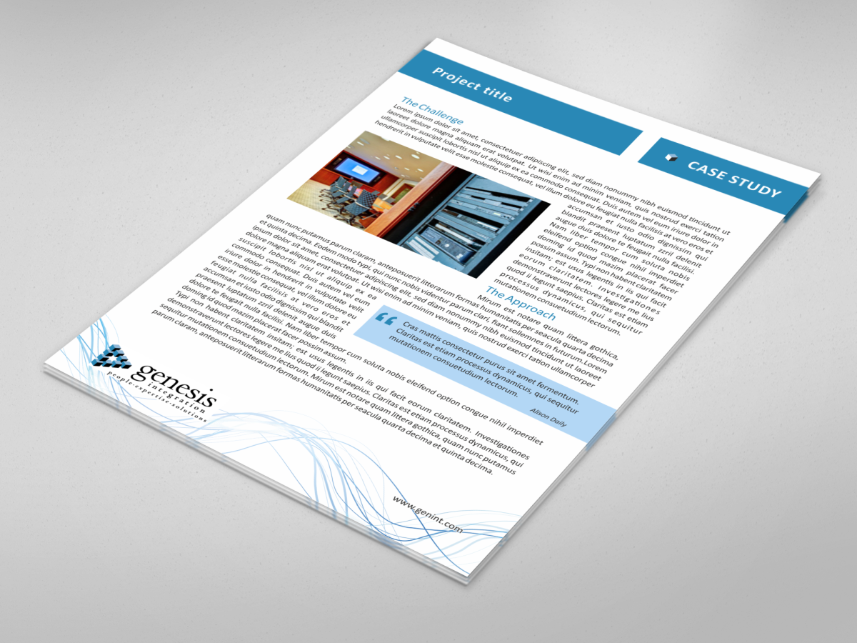 graphic design portfolio case study Browse our case studies for an in-depth look at how we've used print, digital and strategy to deliver solutions to our clients problems.