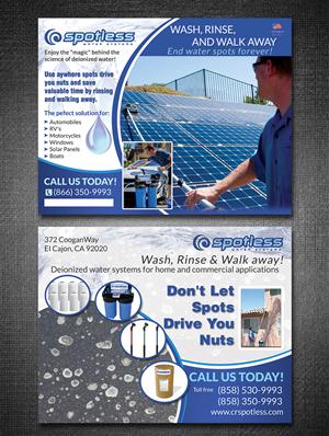 Postcard Design by ESolz Technologies - CRSS Hard Card Design