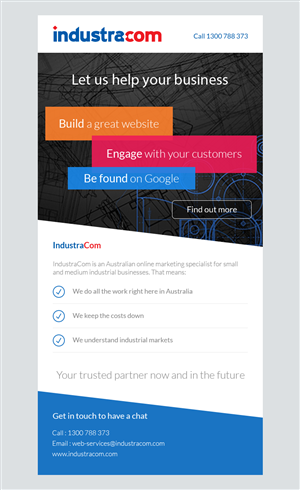 Newsletter Design by slapBackChewLater