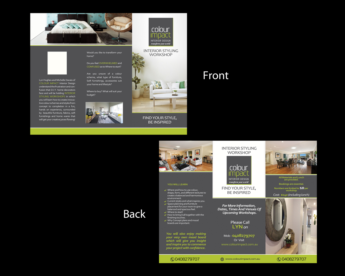 moderne professionnelle learning design de brochure for. Black Bedroom Furniture Sets. Home Design Ideas
