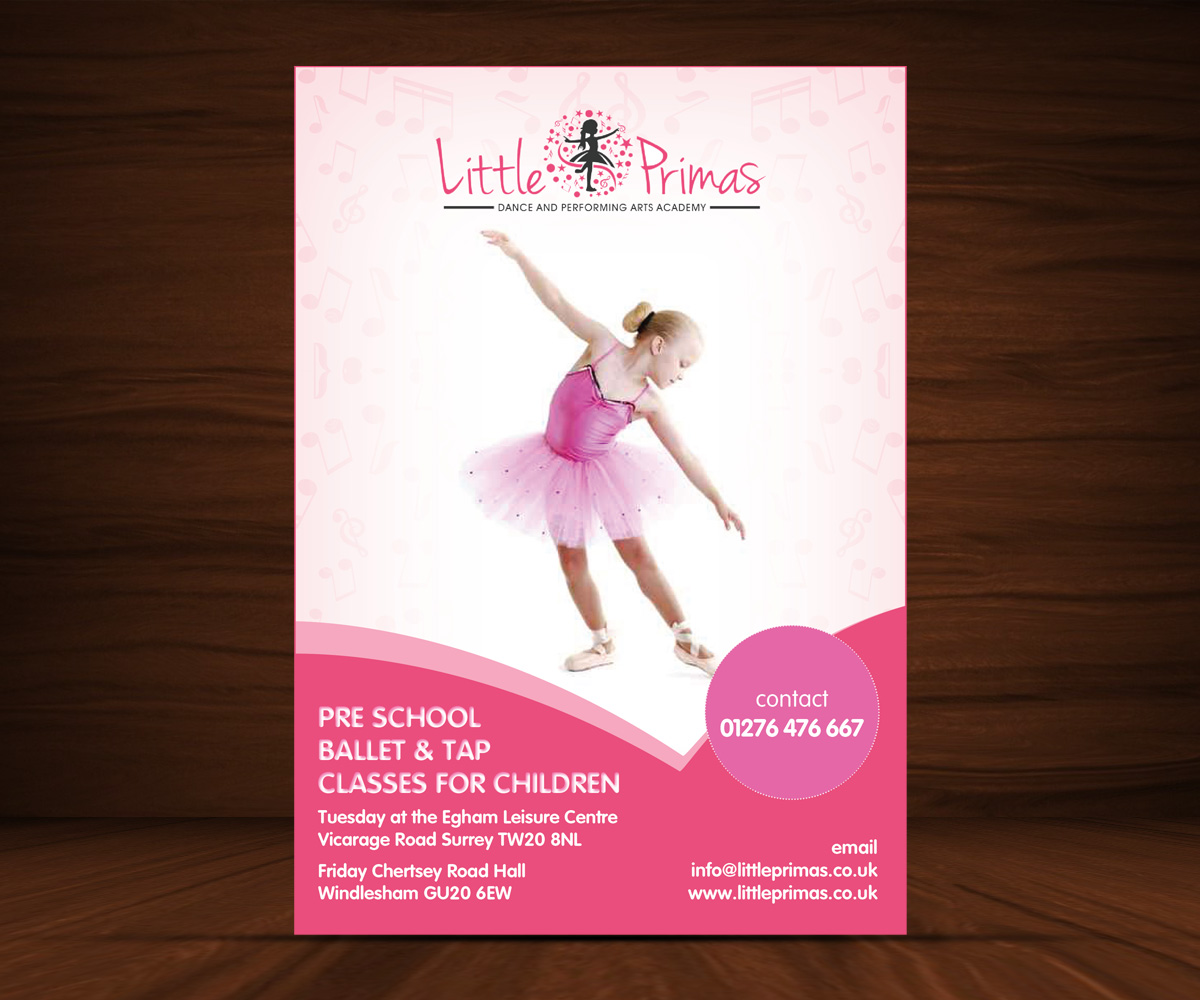 Flyer Design for Starlight Dance Academy by Mahendran | Design ...