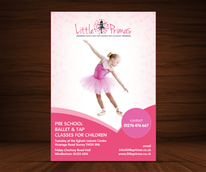 Dance Studio Flyer Design Galleries for Inspiration