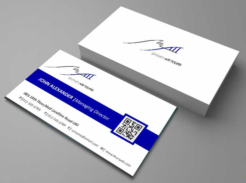 Modern professional business business card design for sydney air business card design by awsomed for sydney air tours design 4345618 reheart Image collections