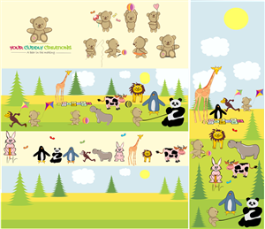 Graphic Design by Natasa_Radulovic - Retailer of Soft cuddly Toy for children to cre...