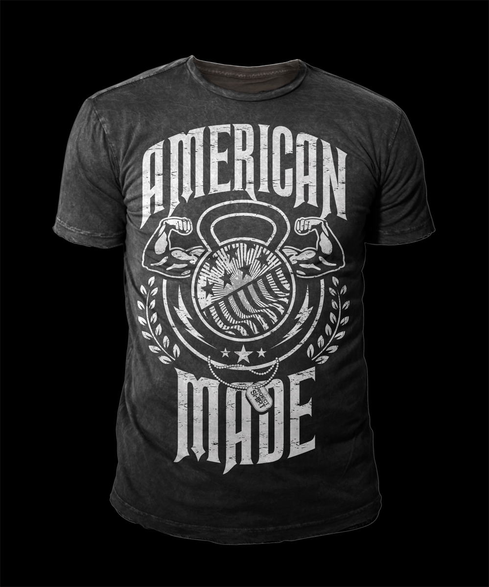 61a94d08d80 Patriotic T-Shirt Designs for the Crossfit Market | 65 T-shirt ...