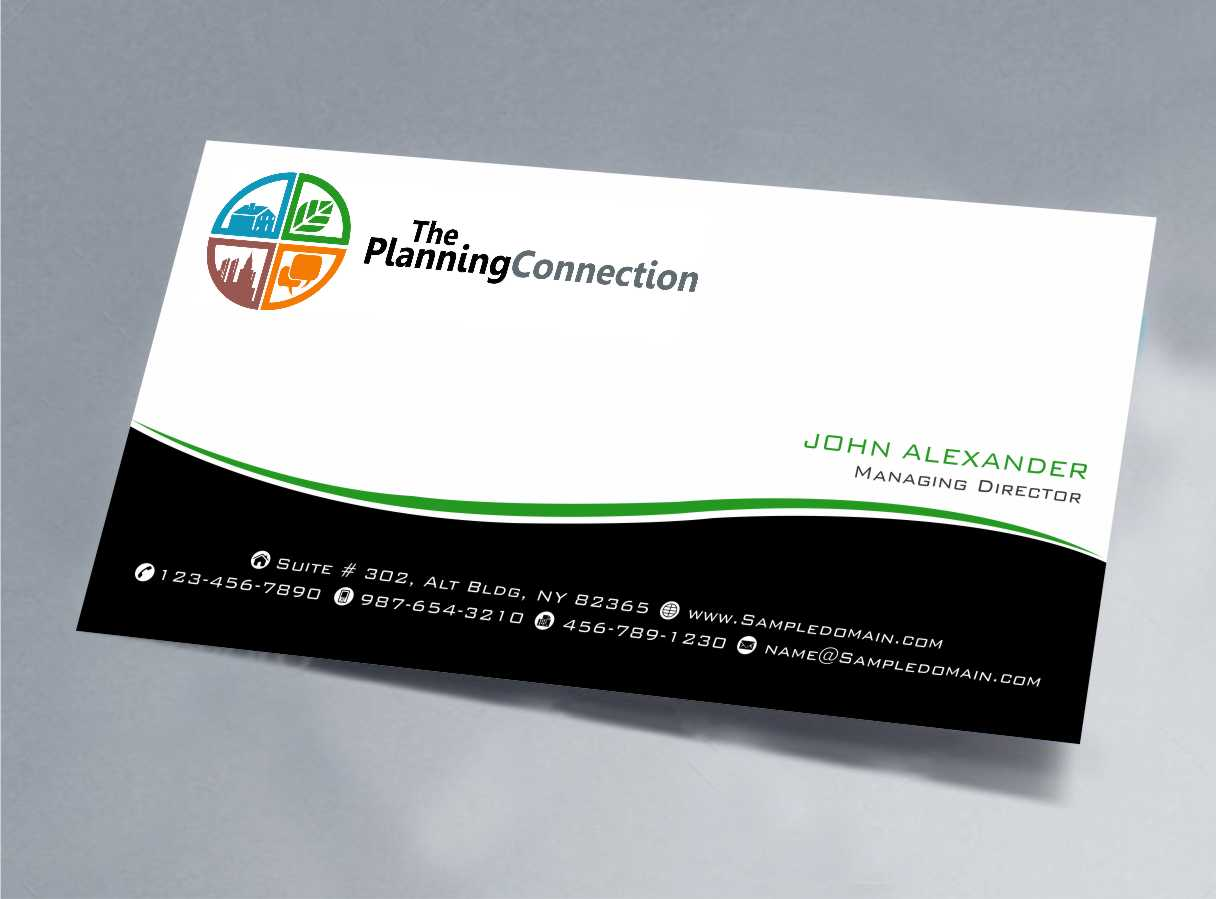 Business Card Design for Lucinda Peterson by szabist | Design #4351447