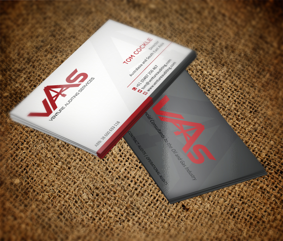 Serious, Professional Business Card Design for Tom by MT | Design ...
