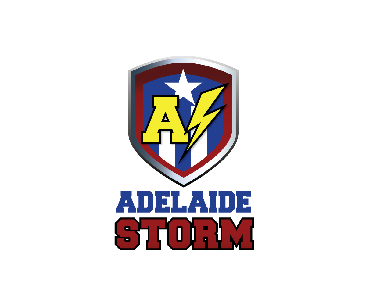 Logo design for adelaide storm by the captain design for Adelaide design