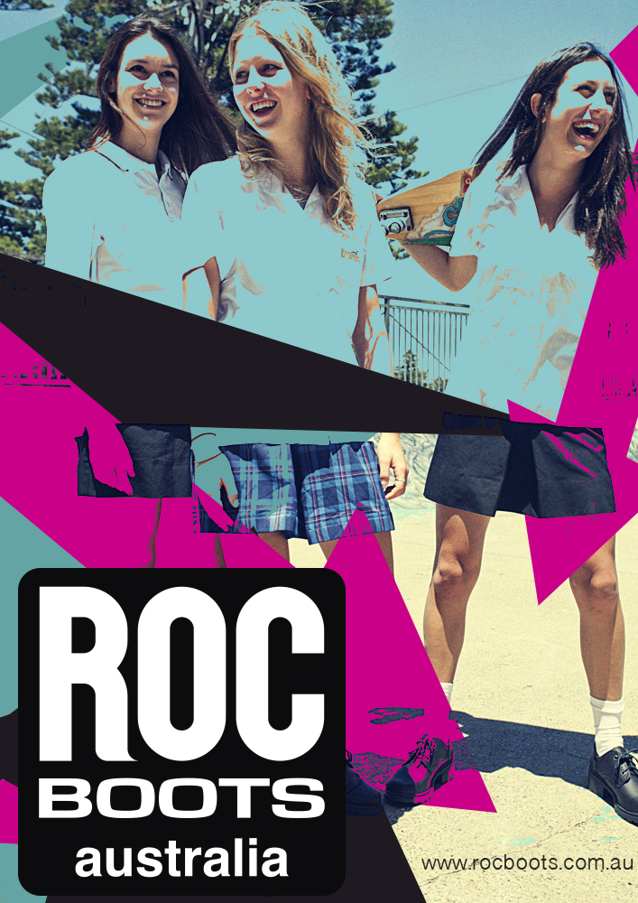 Bold, Playful, Fashion Poster Design for ROC BOOTS by System 6 ...
