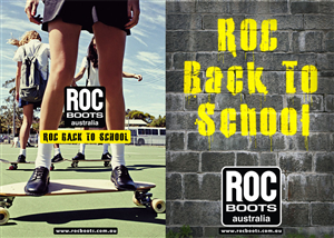 Poster Design by Inkers - ROC BOOTS AUSTRALIA -