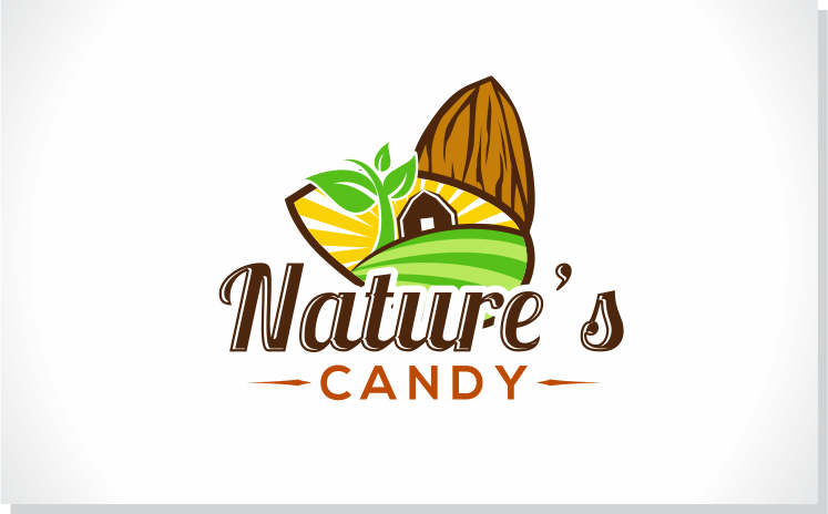 Modern professional logo design design for nature 39 s candy company llc a company in united states - Dried fruit business ...