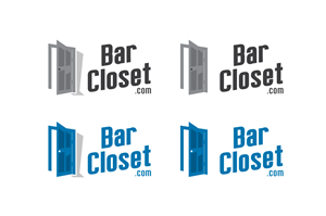 Logo Design by Mandy Illustrator - Bar Closet Logo Design.  It's Business that sel...