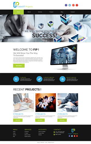 Web Design by Bahriatech - International IT Software company that is going...