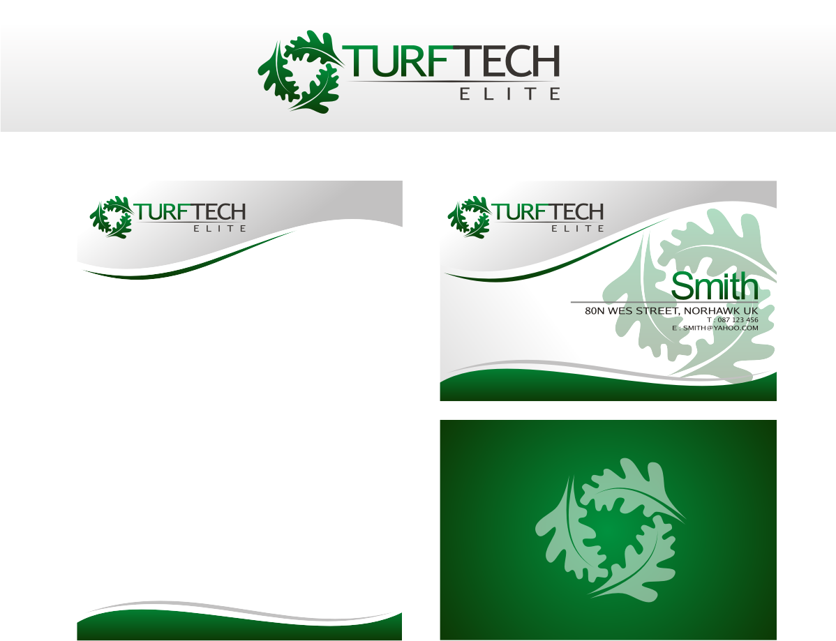 It company logo design for turf tech elite by r i d for D for design