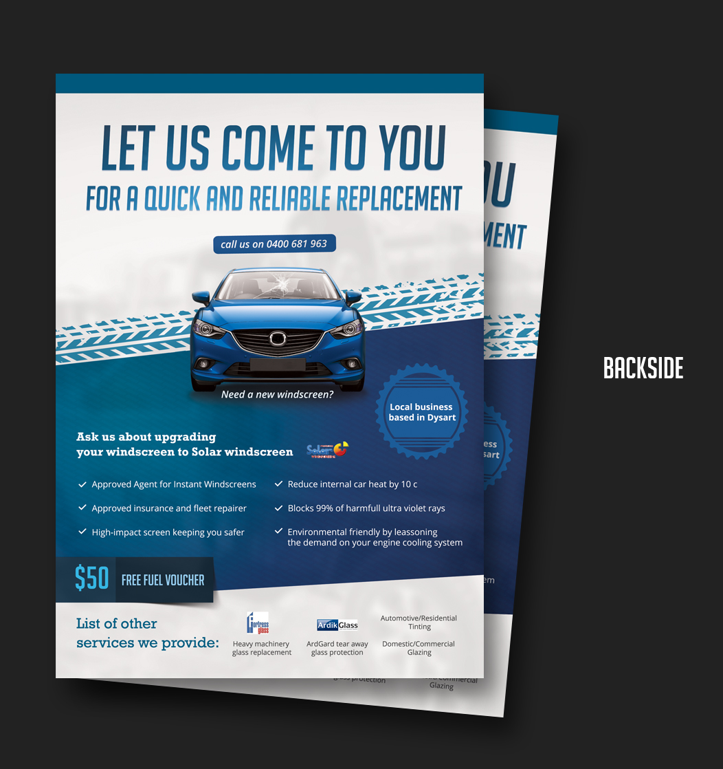 Modern professional insurance flyer design for a company for Design company