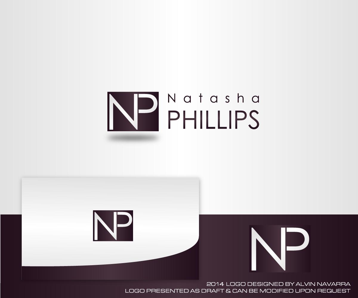 real estate logo design for natasha phillips by