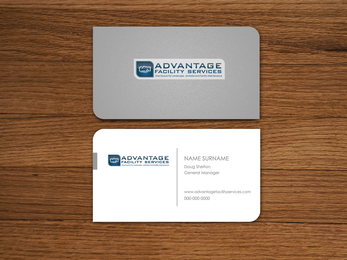 Modern, Bold, Landscape Business Card Design for a Company by ...