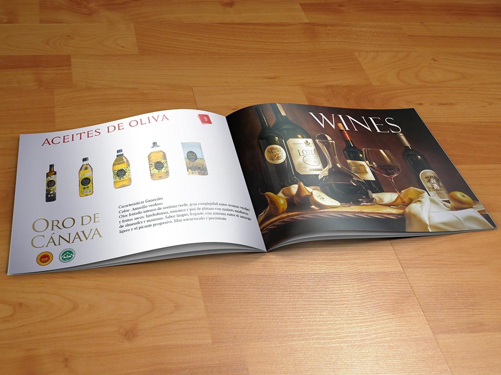 Professionell Modern Trade Katalog Design For Quaestus
