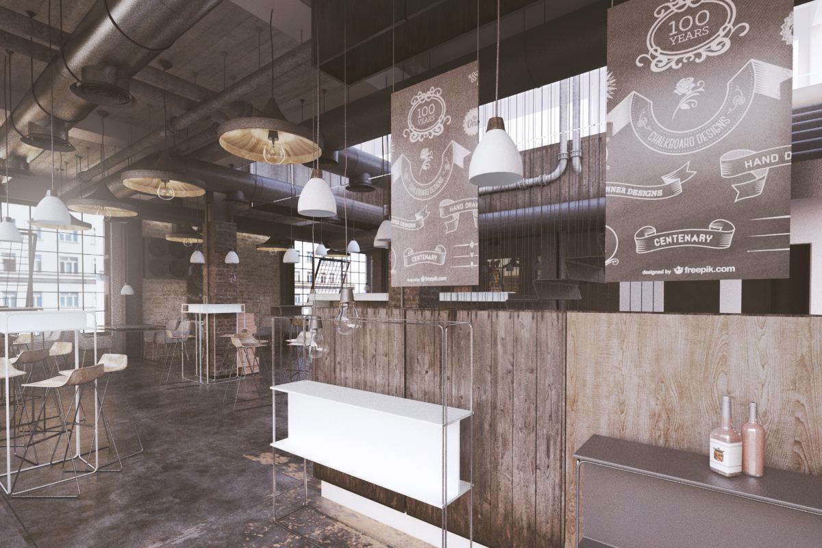 Restaurant d design for a company by vulin slobodan