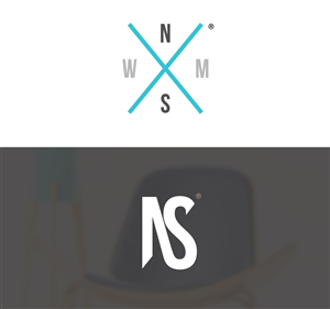 Logo Design by Shane vs Art - Logo for design brand 'Where North Meets South'