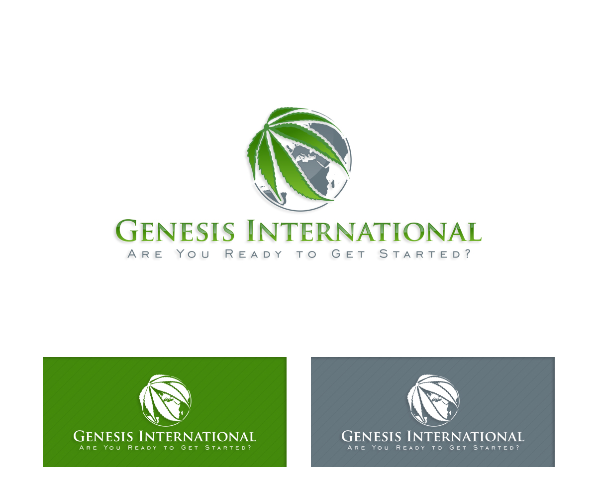 It company logo design for genesis international are you for International design company