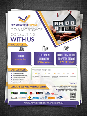 29 flyer designs finance flyer design project for a business in