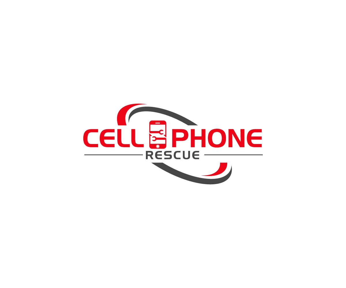 business logo design for cell phone rescue by ks4 design