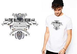 T-shirt Design by EGD Designs - specialty coffee roaster needs cool and excitin...