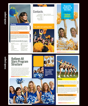 Brochure Design by lusaba - Specialist Secondary Arts School needs a brochu ...