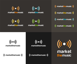 Logo Design for Music Marketing Company Requires Logo by aleksander1