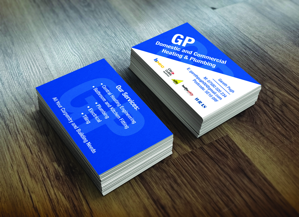 19 professional business card designs business business card business card design by abricorn for gp domestic commercial heating plumbing design 4404603 colourmoves