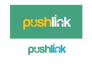 Logo Design by Mithun Das - Logo for Pushlink - www.pushlink.com