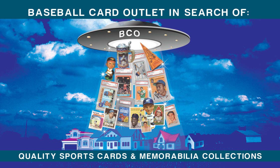 House Business Card Design For Baseball Card Outlet Michael