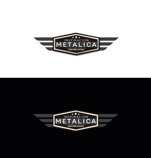 Logo Design by DUAL DESIGNER - Custom motorcycles garage shop needs corporativ...