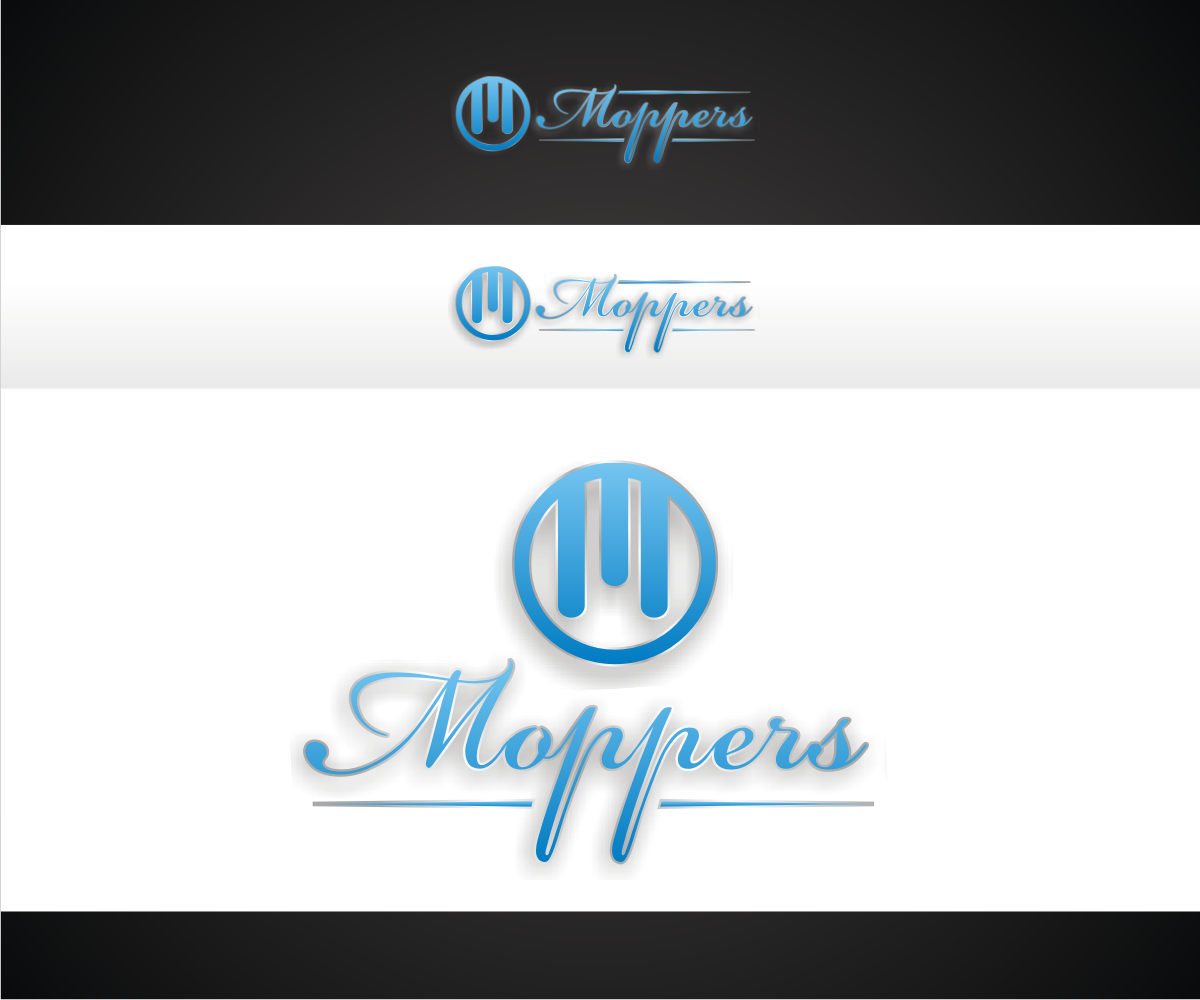 Serious professional hotel logo design for moppers by r for D for design