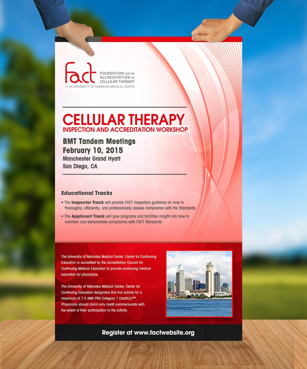 Poster design medical -  Poster Design For Fact Tandem Meeting Poster By Jeffdefy